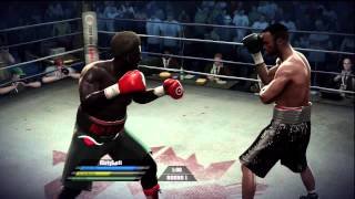 Fight night round 4 online match 1/20 boxing xbox 360