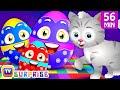 Learn Farm Animals + More ChuChu TV Surprise Eggs Learning Videos SUPER COLLECTION 5
