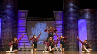 Bubblegum - NZ (Junior) | Hip Hop Internationals Finals 2014