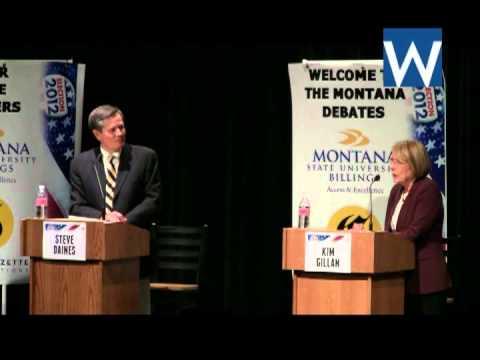 Kim Gillan and Steve Daines debate - October 2, 2012