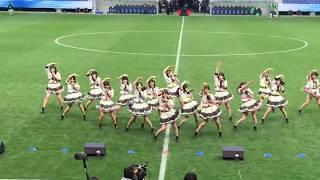 2019年元旦にパナソニック スタジアム 吹田で行われた皇后杯 JFA 第40回全日本女子サッカー選手権大会 でのNMB48ハーフタイムショー M0 OVERTURE M1 ...