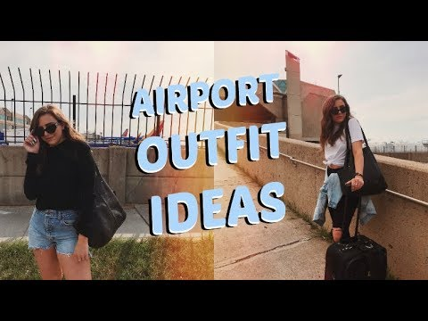 AIRPORT OUTFIT IDEAS // TRAVEL LOOKBOOK | TRAVEL SERIES EP. 7