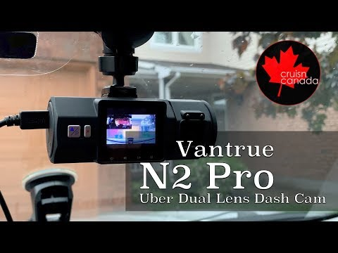 Vantrue N2 Pro Uber Dual Dash Cam | Unboxing And Day/Night Test