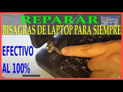 REPARAR BISAGRAS Y PLASTICOS DE LAPTOP METODO DISTINTO CON CALOR Hinges repair