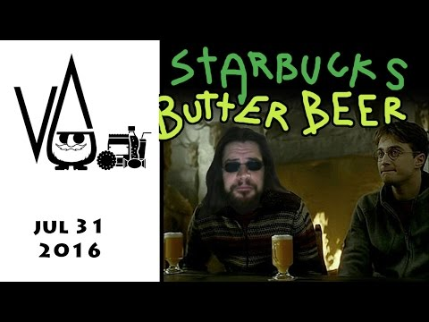Butter Beer (starbucks) ( drink ) review with Gnome