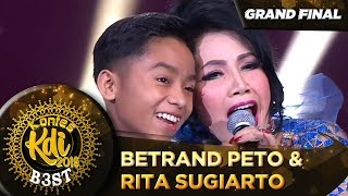 BETRAND PETO FT  RITA SUGIARTO [MENUNGGU] - Grand Final KDI 2019 (18/10)