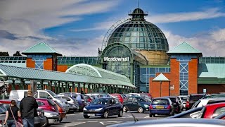 Meadowhall Shopping Centre, Sheffield, South Yorkshire, Before and During COVID 19 Lock-down