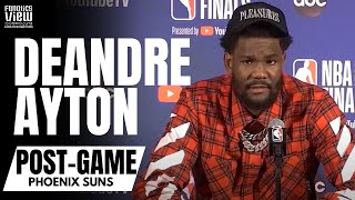"""Deandre Ayton Reacts to Phoenix Suns Losing NBA Finals: """"This Is Just The Beginning"""""""