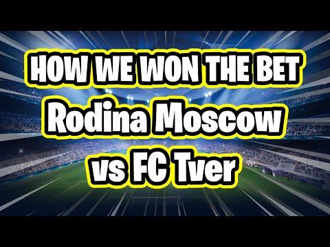 Sports Betting Tips - Rodina Moscow vs FC Tver 2-3 13/10/20