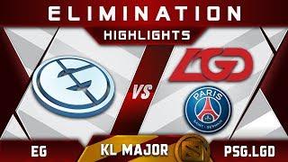 EG vs PSG.LGD [TOP 4] Kuala Lumpur Major KL Major Highlights Dota 2