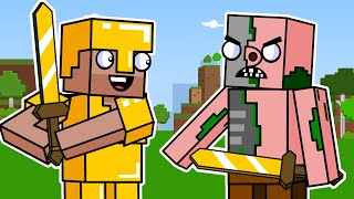 Block Squad: ALL EPISODES (Minecraft Animation) | Part 2
