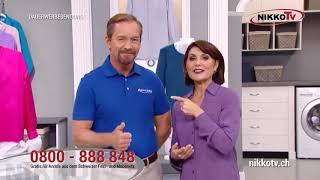 nikkotv CleanMaxx Hemden und Blusenbügler inkl. Hosenaufsatz