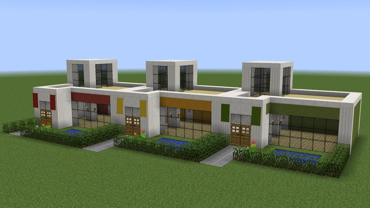 Minecraft How To Build Small Apartments