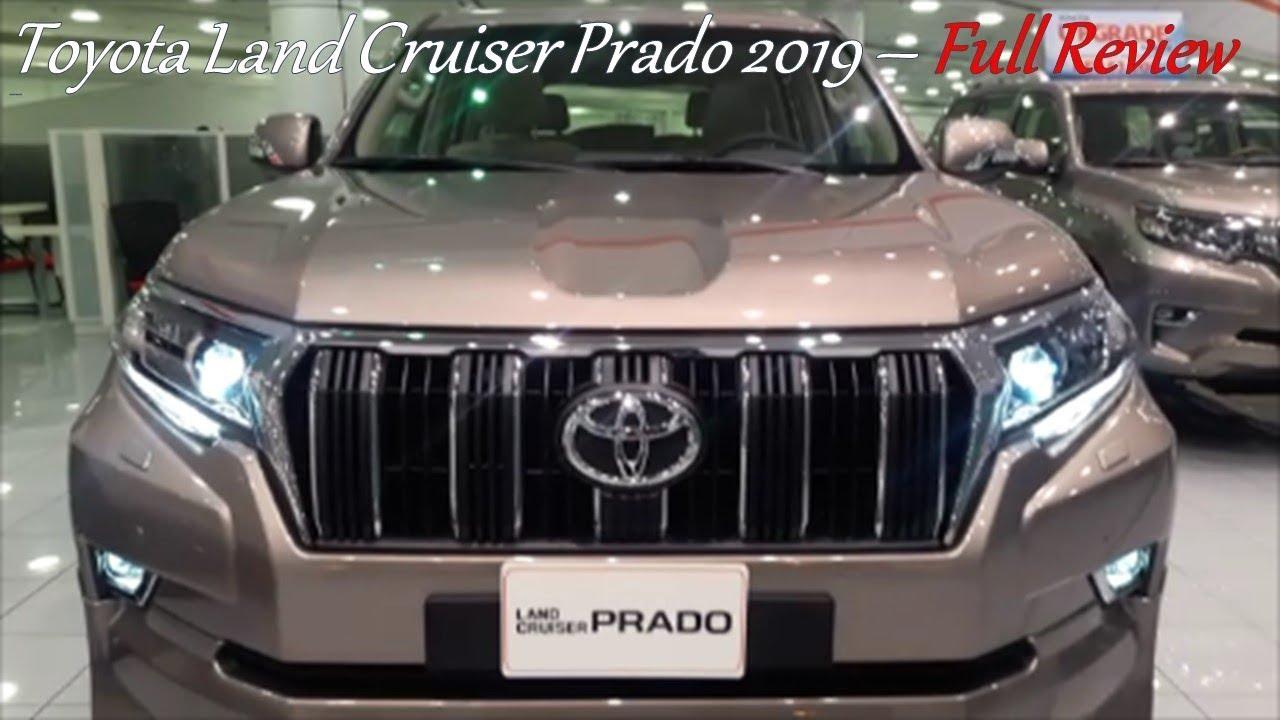 Toyota Prado 2019 Top Of The Range Vx R V6 Full Interior