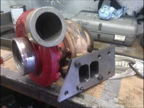 Homemade turbojet engine build, part one ( JJK ENGINEERING )