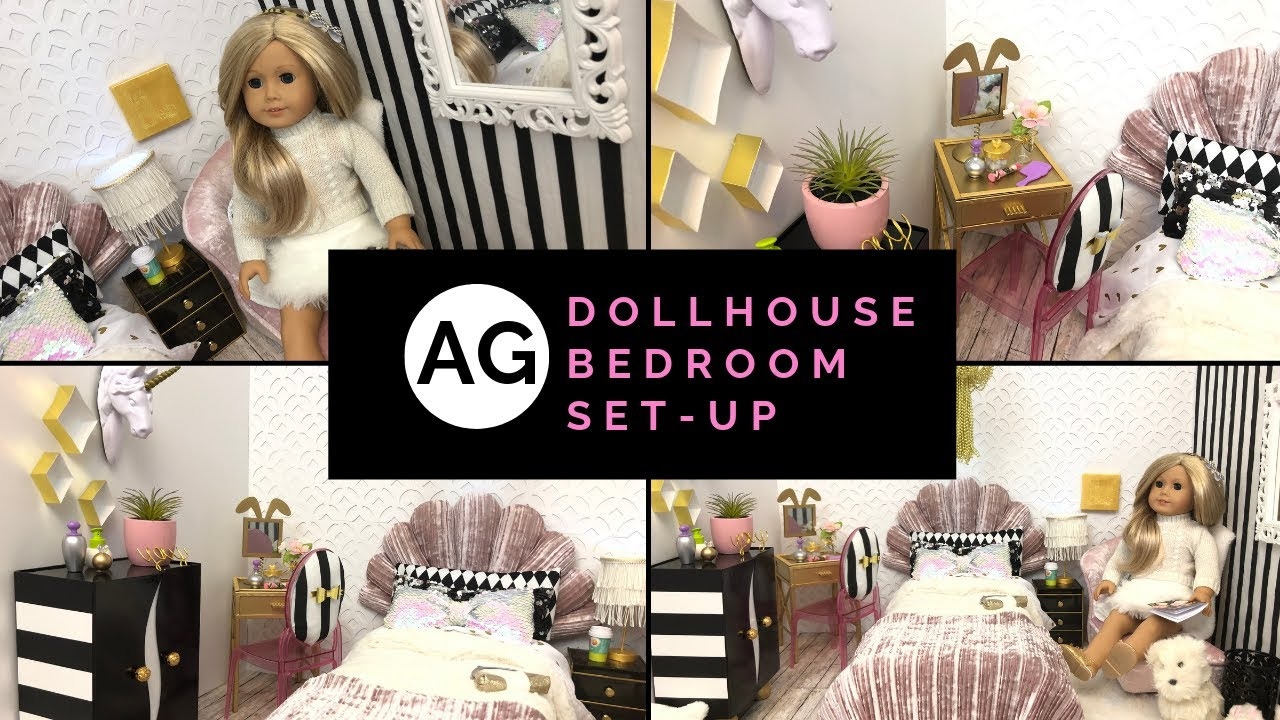 American Girl Doll House Bedroom Ideas Inspiration From Pottery Barn Teen Pbt Youtube