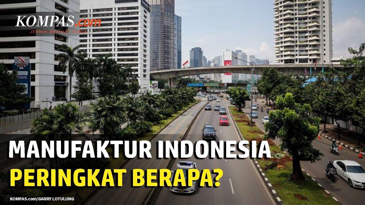 Peringkat Manufaktur Indonesia di Dunia
