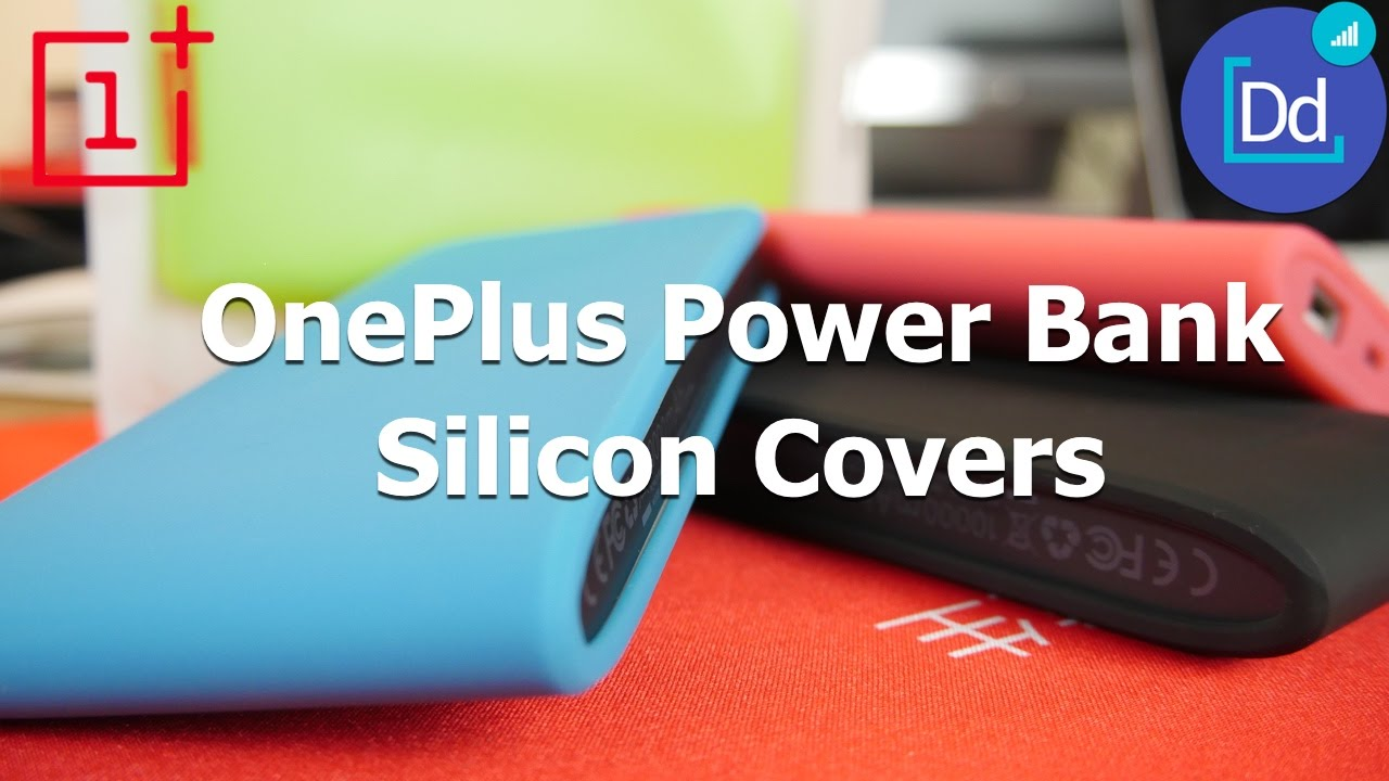 on sale 07696 b04bb OnePlus PowerBank Silicon Covers in 4K