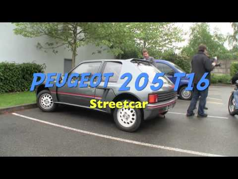 Peugeot 205 T16 streetcar