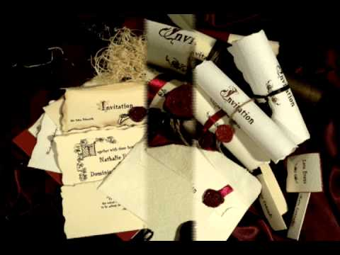 True love story wedding invitations - barn, celtic wedding invitations designs