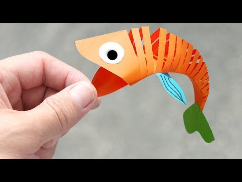 How to make Moving Fish - YouTube