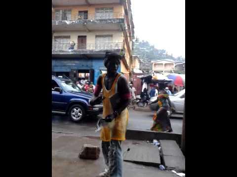 Sierra Leone Crazy Free Style Dancer's