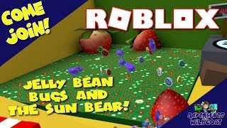 Jelly Bean Bugs and the Sun Bear Quest - Bee swarm - Roblox