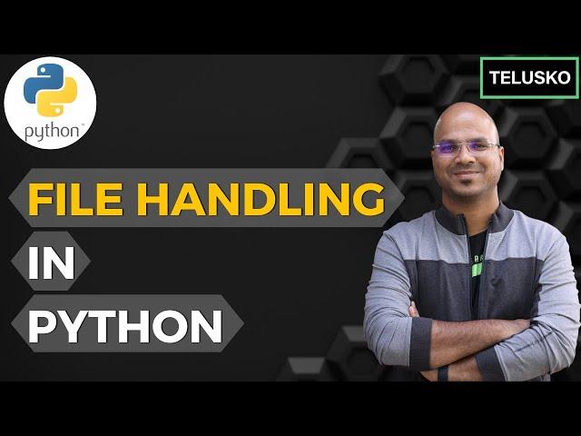 #65 Python Tutorial for Beginners   File handling