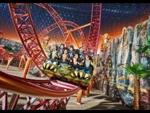 IMG World of adventure Dubai Largest indoor theme park Dubai