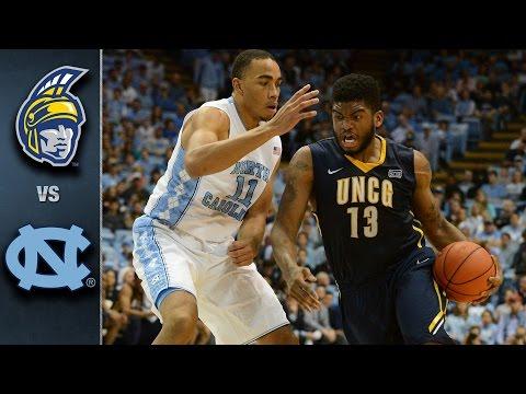 North Carolina vs. UNC Greensboro Basketball Highlights (2015-16)