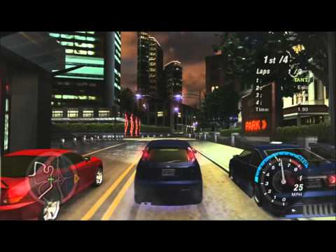Playing Need For Speed Underground 2 On Xbox 360 Youtube