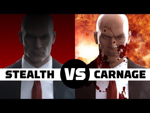 Hitman 2: Stealth vs Carnage