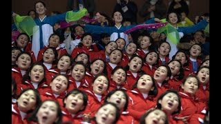 North Korea's cheerleaders make impression at 2018 Olympics