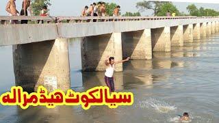 Headmarala Sialkot Pakistan //River Chanab picnic point //Headmarala Eid mela