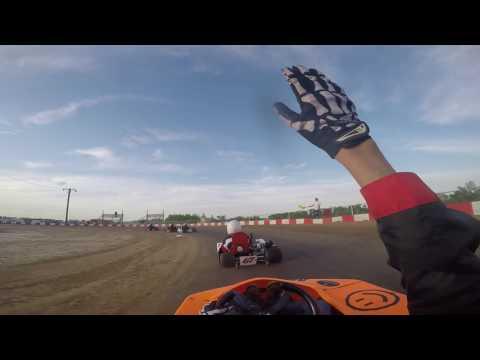 KC RaceWay Adult Light $$ Heat Race(Crash) 5/07/16