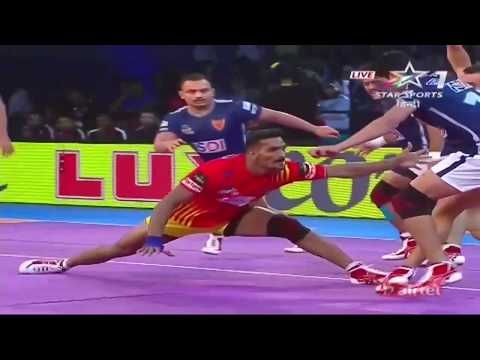 Gujarat FortuneGiants vs Dabang Delhi Kabaddi Club: Season 5, Match 5