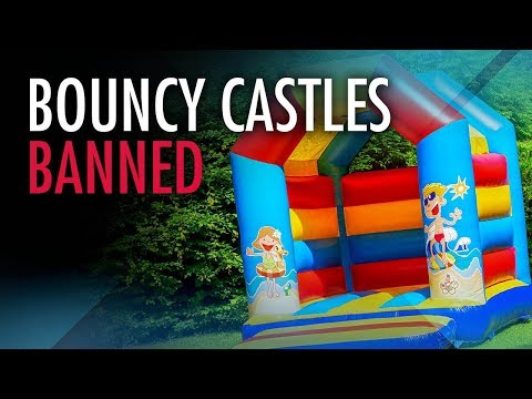 "Edmonton educrats ban ""bouncy castles"" 