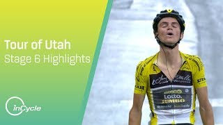 Tour of Utah 2018 | Stage 6 Highlights | inCycle