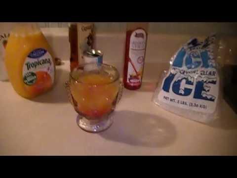 How To Make A Captain Morgan And Malibu Rum Mia Tia Tasty Recipe Cocktail