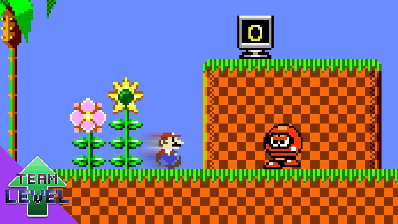If Super Mario Bros. had Sonic Physics