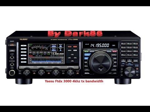 yaesu ftdx 3000 4khz tx bandwidth youtube rh youtube com yaesu ftdx 3000 user manual YouTube Yaesu FTDX-3000