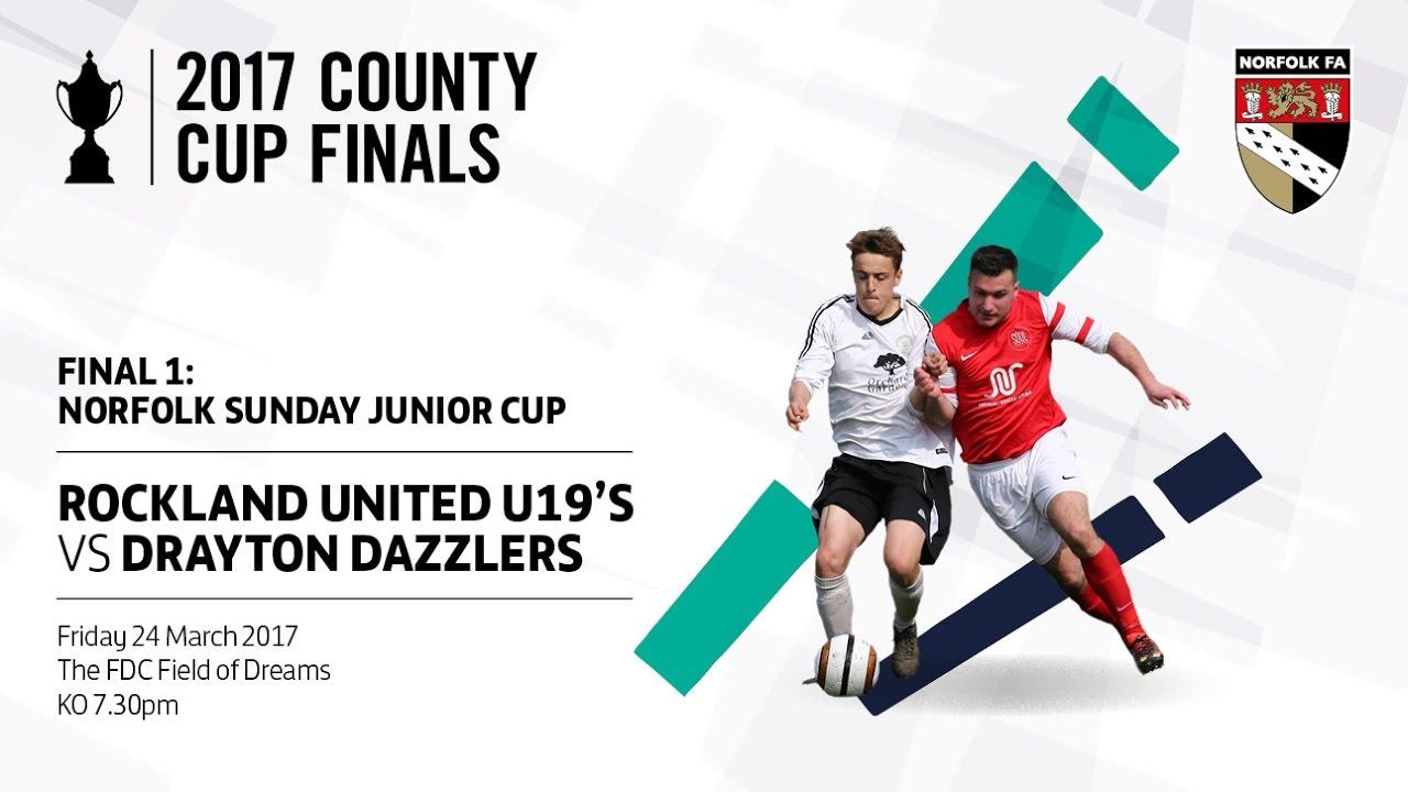 Sunday Junior Cup Final 2016-17