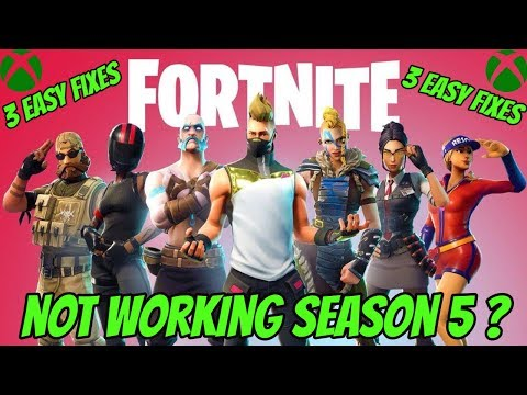 FORTNITE NOT WORKING XBOX ONE  (3 EASY FIXES)
