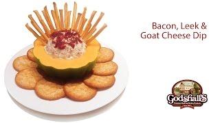 Delicious Bacon Leek Dip