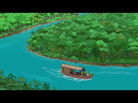 The Simpsons in the Amazon