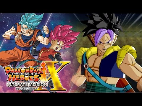 FUTURE GOHANKS SHOWS THE TRUE POWER OF FUSION!!! | Dragon Ball Heroes Ultimate Mission X Gameplay!