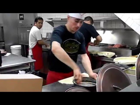 How they make Giordano's thick crust stuffed pizza