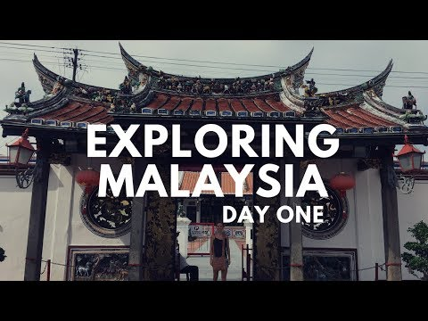 Things to see in MALAYSIA | 48 Hours in MALACCA | VLOG ONE
