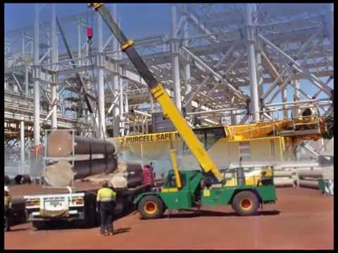 Purcell Crane Hire Lifting in the North West of WA - YouTube