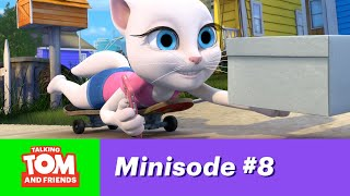 Repeat youtube video Talking Tom and Friends Minisode 8 - Angela's Surprise